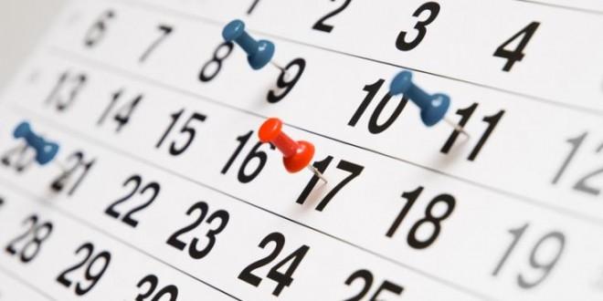 Revised 2017 Schedule